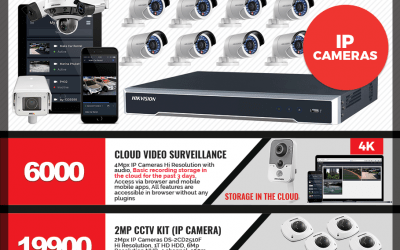 Product flyer (hikvision)