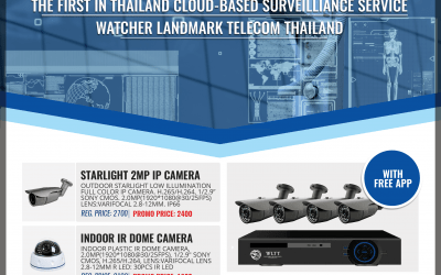 WLTT IP cameras and NVR