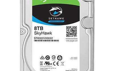 Seagate 8TB surveillance-optimised storage