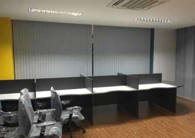 прокладка кабеля в офисе в Таиланде