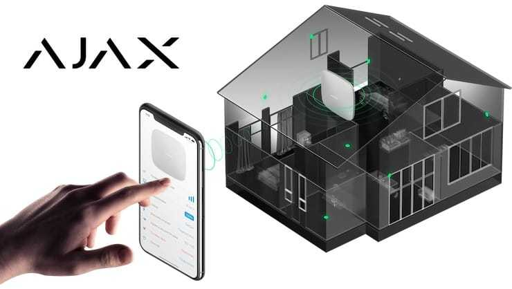 ajax banner - Ajax - Wireless technology on guard of family and business